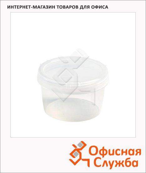 фото: Банка для сыпучих продуктов Бытпласт Твист 0.25л пластик, с закручивающейся крышкой