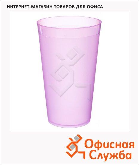 фото: Стакан высокий Полимербыт для сока 400мл