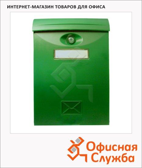 фото: Почтовый ящик Shyn LTP 01 пластик зеленый, 345х240х105мм