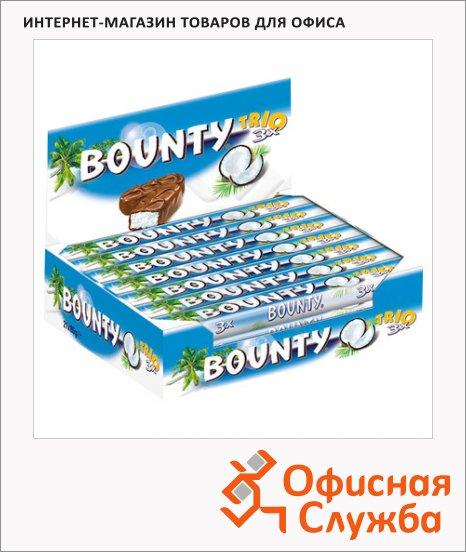 фото: Батончик шоколадный Bounty трио 24шт х 82.5г