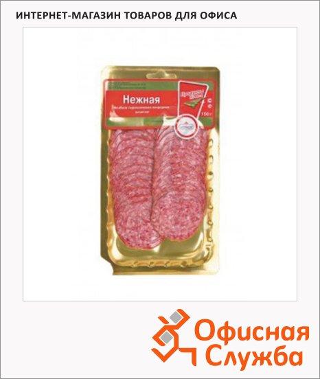 Колбаса Царицыно сырокопченая Нежная, 150г, нарезка