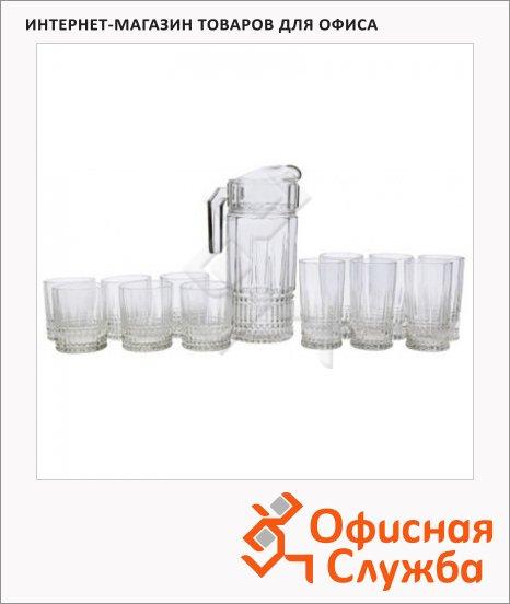 фото: Питьевой набор Luminarc Elysees кувшин и 12 стаканов прозрачный