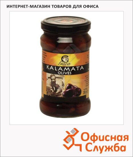 Оливки Gaea с косточкой, 300г