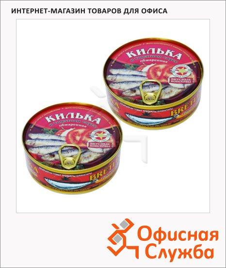 Килька Вкусные Консервы в томатном соусе, 2шт х 240г