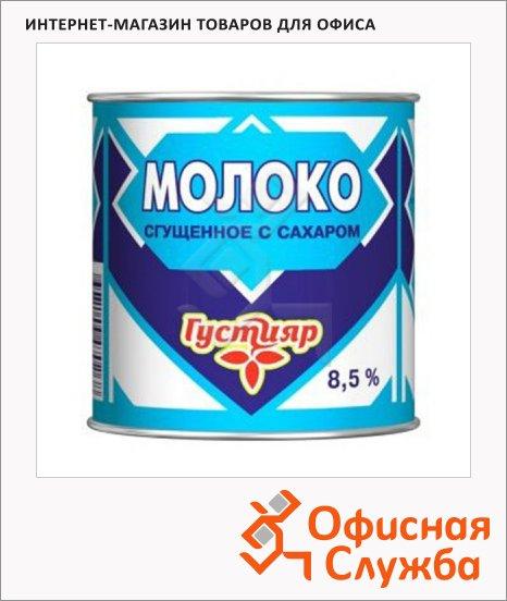 фото: Молоко сгущенное Густияр 8.5% 380г ж/б