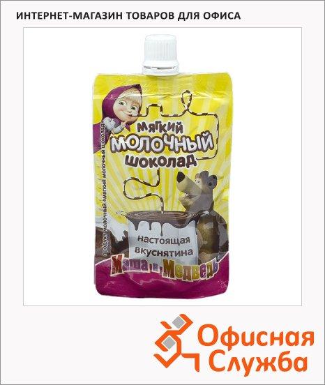 Молоко сгущенное Маша И Медведь 8.5% 270г, мягкая упаковка, с молочным шоколадом