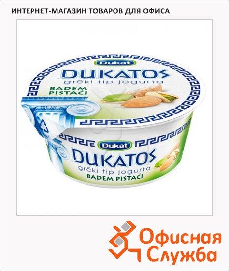 Йогурт Dukat греческий миндаль и фисташки, 9.7%, 150г