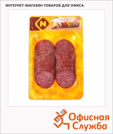 Колбаса Останкино Итальянская салями сырокопченая, 150г, нарезка