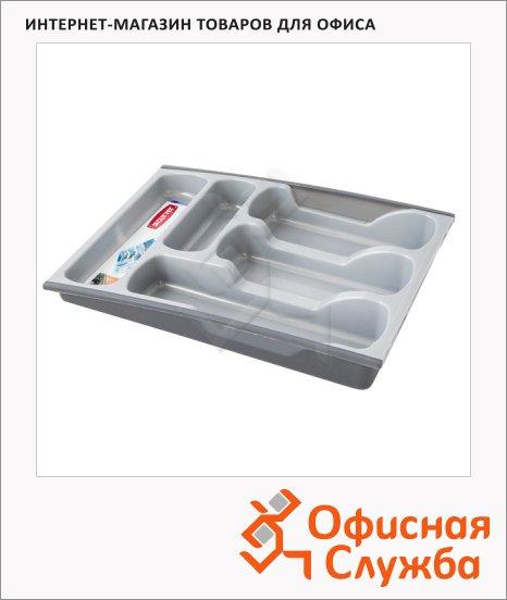 фото: Лоток-вкладыш для столовых приборов Curver 30 х 42 х 6.4см пластмасса
