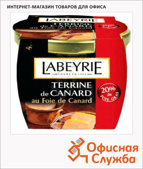 Паштет фуа-гра Labeyrie Terrine утиный, 20%, 170г