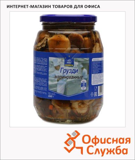 фото: Грибные консервы Horeca грузди маринованные 930г