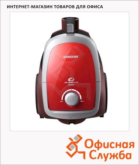 фото: Пылесос с контейнером Samsung SC-4752V32 2000Вт красный