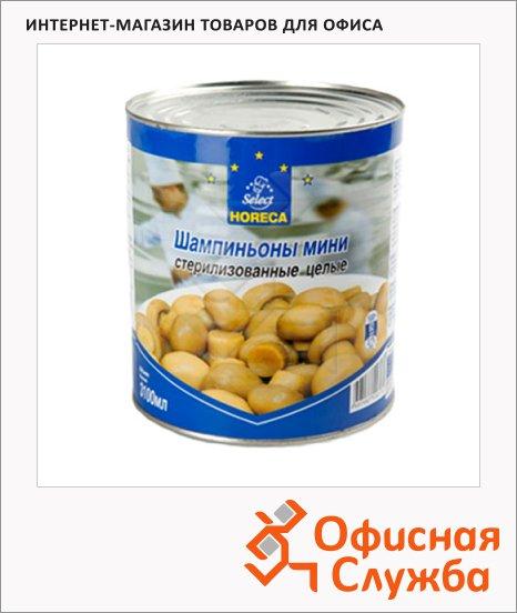 Грибные консервы Horeca шампиньоны целые, 3100мл