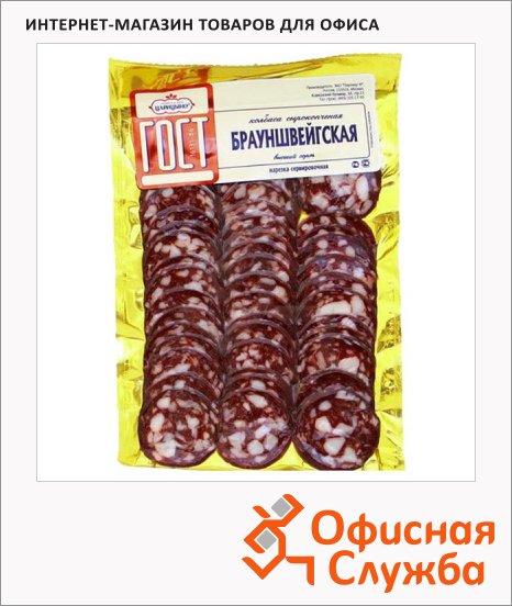 фото: Колбаса Царицыно Брауншвейгская сырокопченая 150г, нарезка
