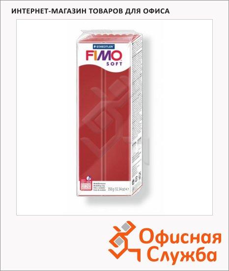 фото: Полимерная глина Fimo Soft рождественский красный 350г