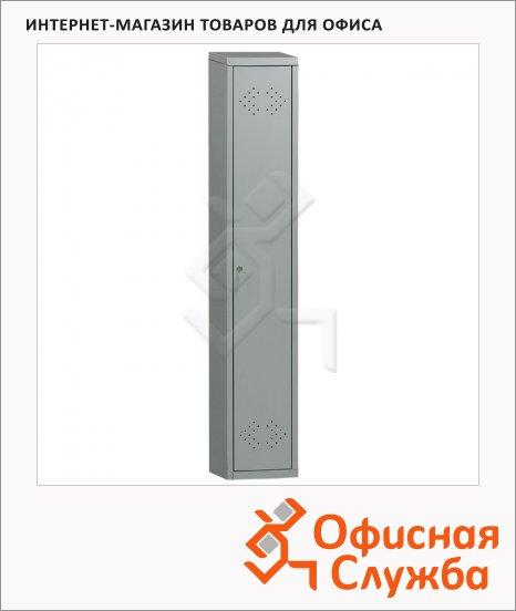 Шкаф для одежды металлический Практик LS-01-40 1830х500х418мм