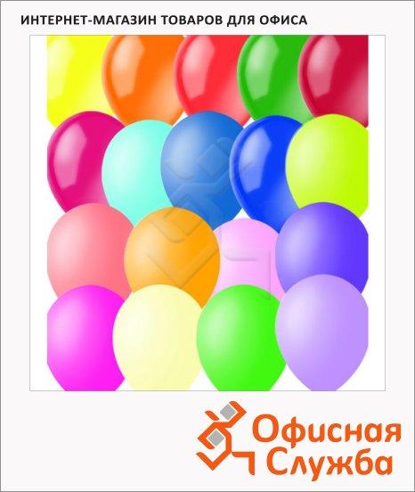 фото: Воздушные шары Поиск ассорти 23см, 100шт