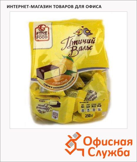 фото: Суфле в шоколаде Птичий вальс со вкусом лимона 250г