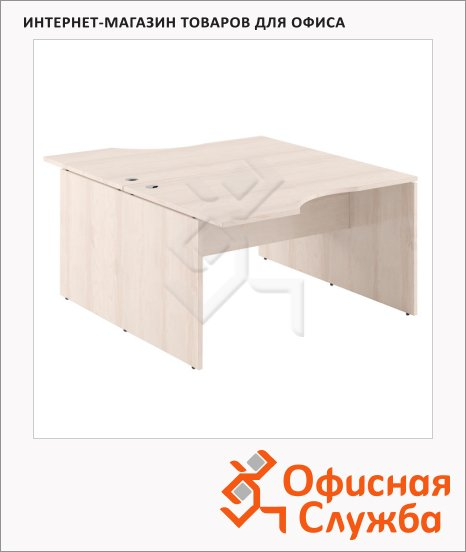 Стол письменный Skyland Xten X2CET 169.2, двойной, 1600х1810х750мм, береза норд