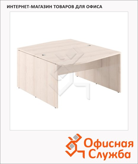 Стол письменный Skyland Xten X2CT 149.2, двойной, 1400х1810х750мм, береза норд