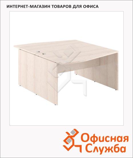 Стол письменный Skyland Xten X2CT 149.3, двойной, 1400х1810х750мм, береза норд