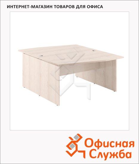 Стол письменный Skyland Xten X2CT 169.1, двойной, 1600х1810х750мм, береза норд
