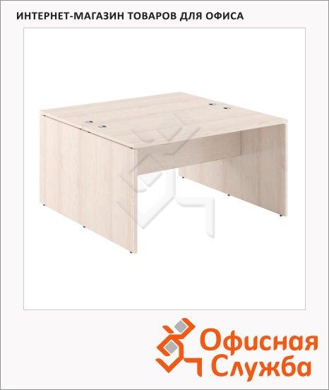 Стол письменный Skyland Xten X2ST 147, двойной, 1400х1410х750мм, береза норд
