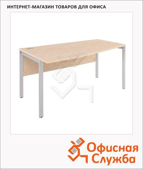 Стол письменный Skyland Xten-M XMCT 169, эргономичный, левый, 1600х900х750мм, береза норд