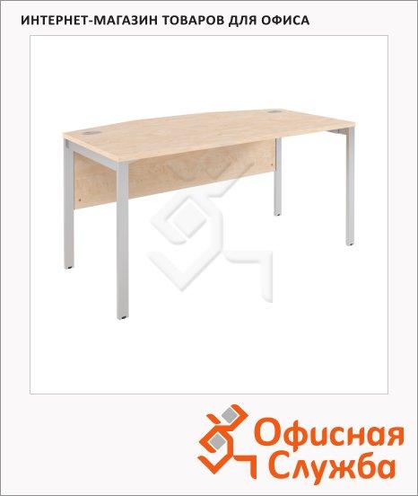 Стол руководителя Skyland Xten-M XMET 169, 1600х867х750мм, береза норд