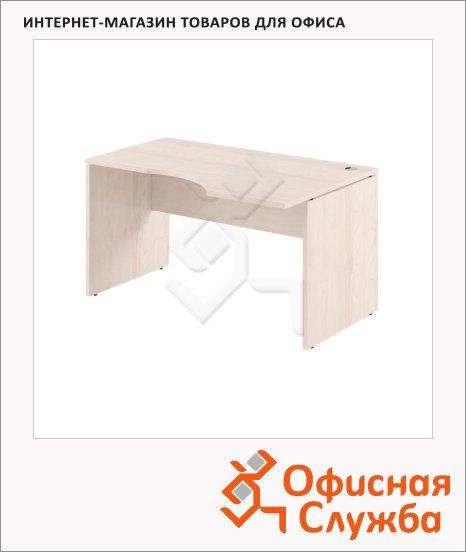 Стол письменный Skyland Xten XCET 169, эргономичный, правый, 1600х900х750мм, береза норд