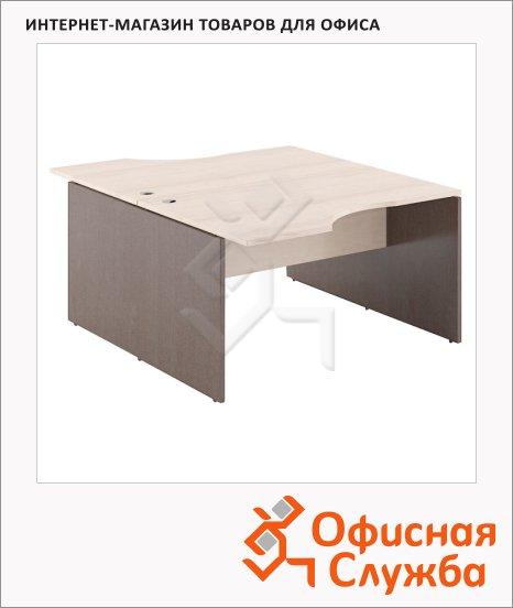 Стол письменный Skyland Xten X2CET 169.3, двойной, 1600х1810х750мм, береза норд/рено