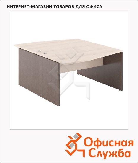 Стол письменный Skyland Xten X2CT 149.3, двойной, 1400х1810х750мм, береза норд/рено