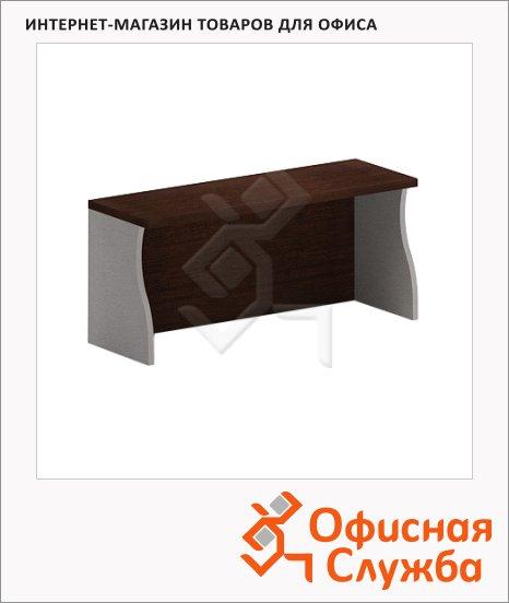 фото: Надставка на стол Imago НС-1 900х300х400мм, венге/металлик