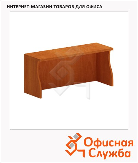 фото: Надставка на стол Skyland Imago НС-4 груша ароза, 1600х300х400мм