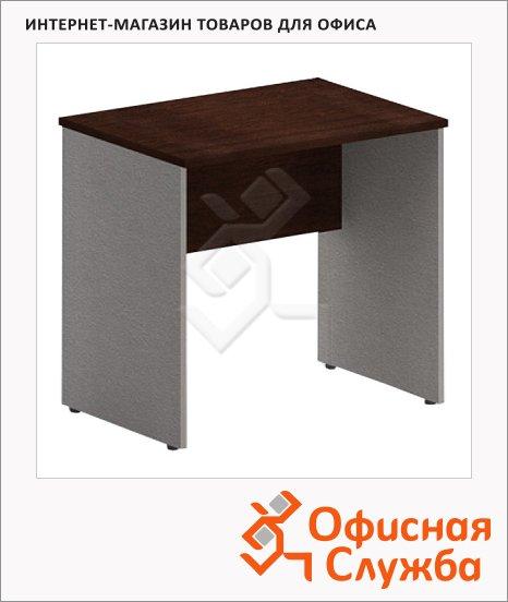 Стол письменный Skyland Imago СП-1.1, 900х600х755мм, венге/металлик