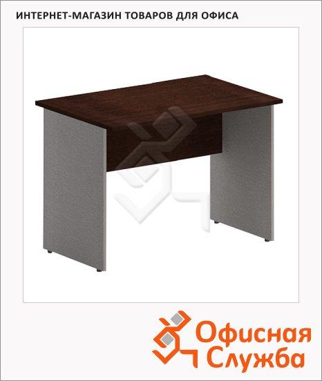 фото: Стол письменный Imago СП-4 1600х720х755мм, венге/металлик