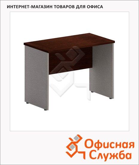 Стол приставной Skyland Imago ПС-1, 900х500х650мм, венге/металлик