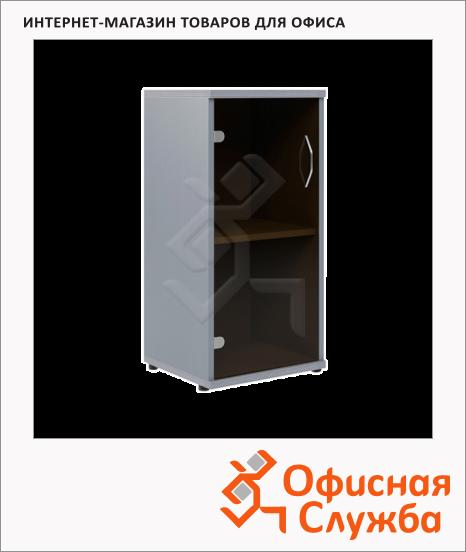 фото: Шкаф-колонка Skyland Imago СУ-3.2 403х365х823мм, венге/металлик
