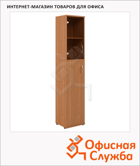 фото: Шкаф-колонка Skyland Imago СУ-1.7 правый, 403х365х1975мм, груша ароза
