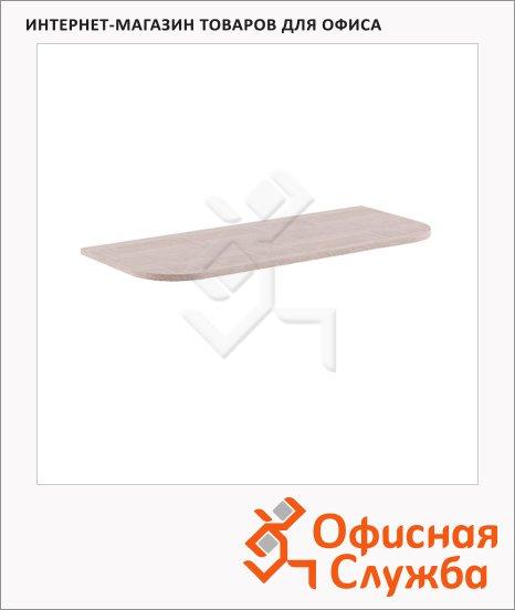 Приставка к письменному столу Skyland Xten XKD 166, 1606х600х25мм, дуб сонома