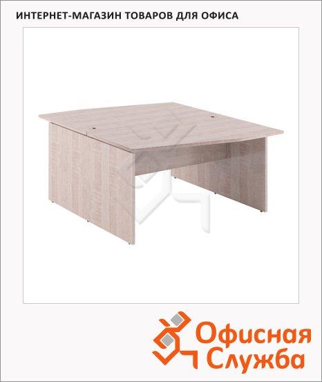 Стол письменный Skyland Xten X2CT 149.1, двойной, 1400х1810х750мм, дуб сонома