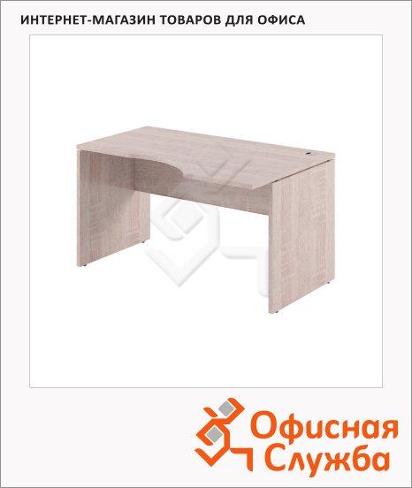 Стол письменный Skyland Xten XCET 149, эргономичный, правый, 1400х900х750мм, дуб сонома
