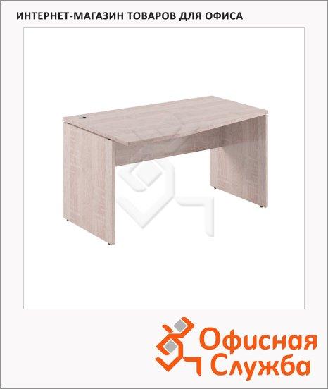 Стол письменный Skyland Xten XCT 149, эргономичный, левый, 1400х900х750мм, дуб сонома