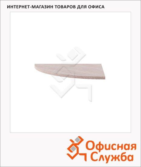 Приставка к письменному столу Skyland Xten XKD 700, угловая, дуб сонома, 700х700х25мм