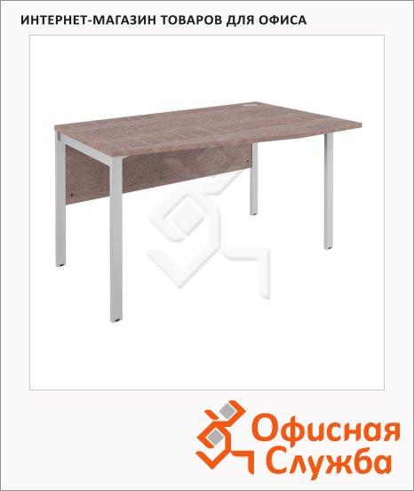 Стол письменный Skyland Xten-M XMCT 149, эргономичный, правый, 1400х900х750мм, дуб сонома