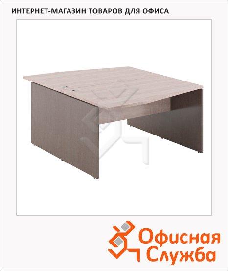 Стол письменный Skyland Xten X2CT 149.3, двойной, 1400х1810х750мм, дуб сонома/рено