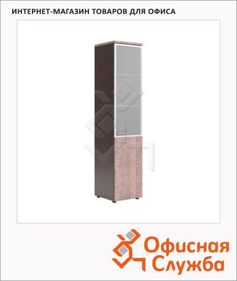 фото: Шкаф-колонка Xten дуб сонома/рено правый, 432х452х1955мм, комбинированный