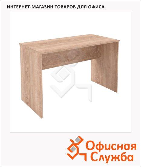 фото: Стол письменный Skyland Simple S-1200 1200х600х760мм, дуб сонома светлый