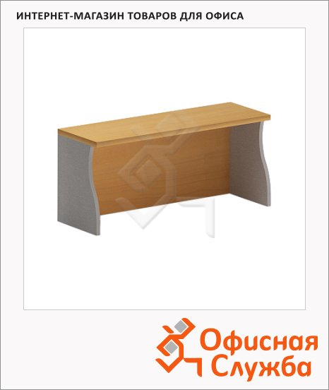 фото: Надставка на стол Skyland Imago НС-1 900х300х400мм, клен/металлик