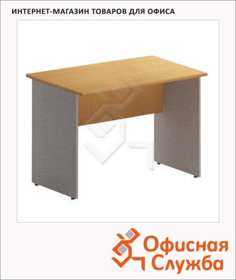 Стол письменный Skyland Imago СП-4, 1600х720х755мм, клен/металлик